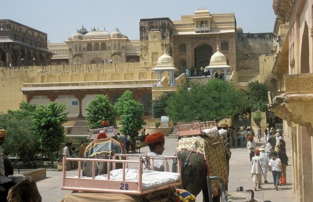 Fort d'Ambre au Rajasthan